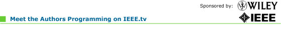 Meet the Authors on IEEE.tv