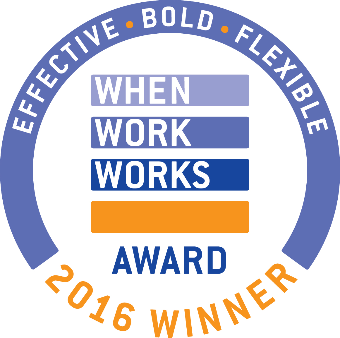 When Work Works logo - 2016 winner