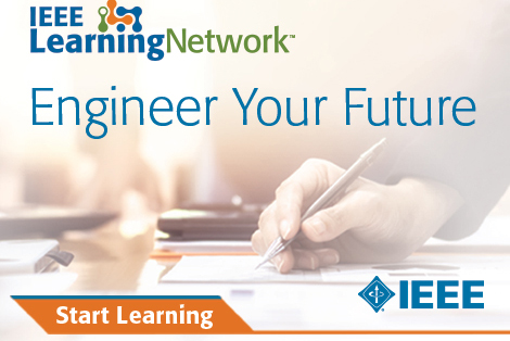 "IEEE Learning Network logo. Orange text at bottom left says ""Start Learning"""
