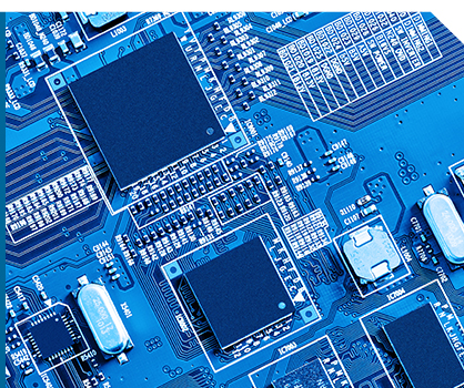 Close-up of a circuit board