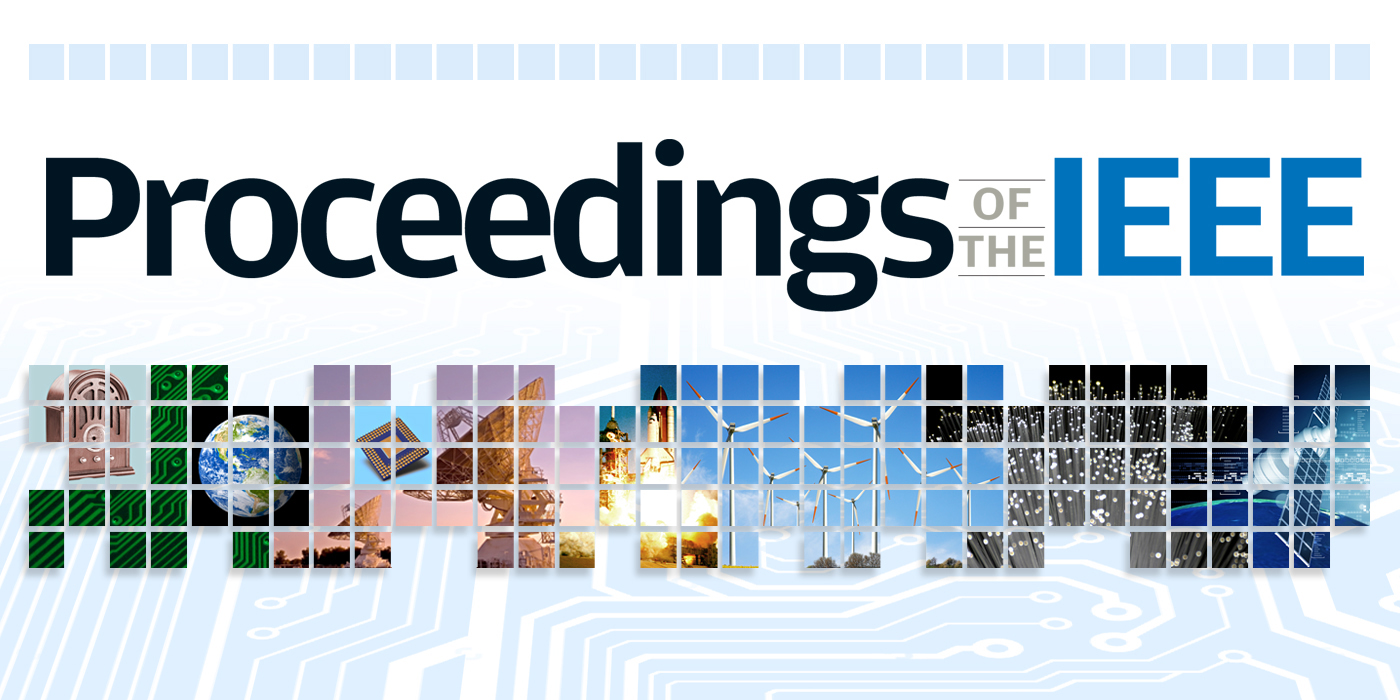 Banner image for the new Proceedings of the IEEE website.